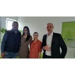 Partenerul de afaceri Hoellinger din Austria - vizită la Biosens