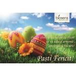 Echipa Biosens vă urează sărbători fericite de Paști!