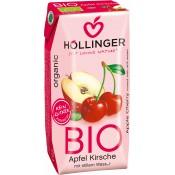 Suc ecologic neacidulat de mere și vișine 200 ml
