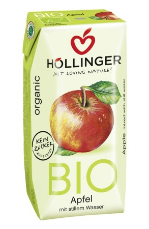 Suc ecologic de mere neacidulat 200 ml