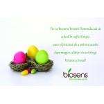 """Biosens vă urează """"Sărbători fericite de Paști!"""""""